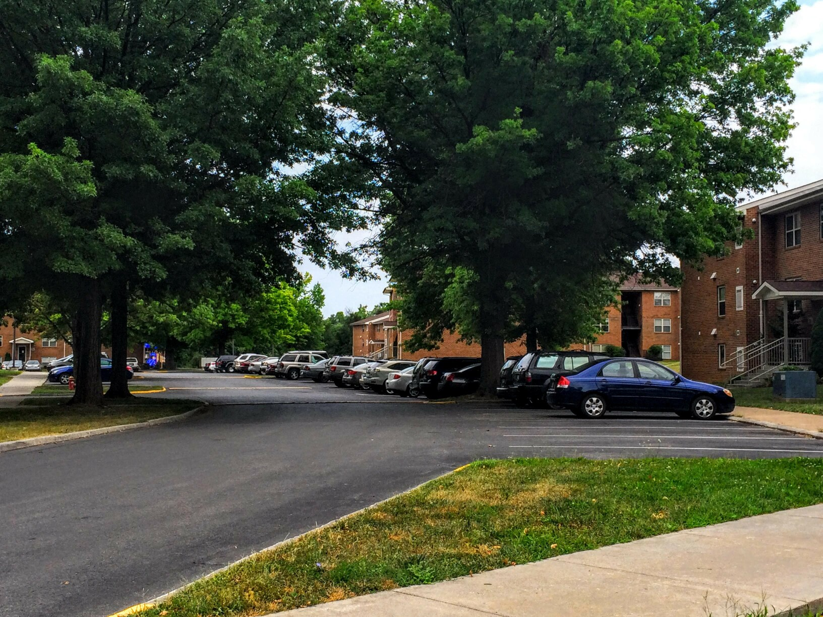 View of Apartment Complex